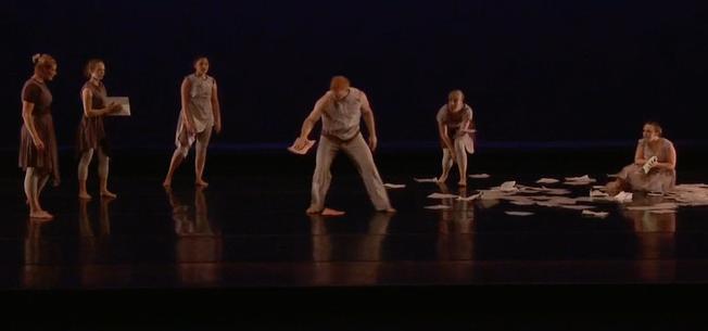Dancers are watching Ryan